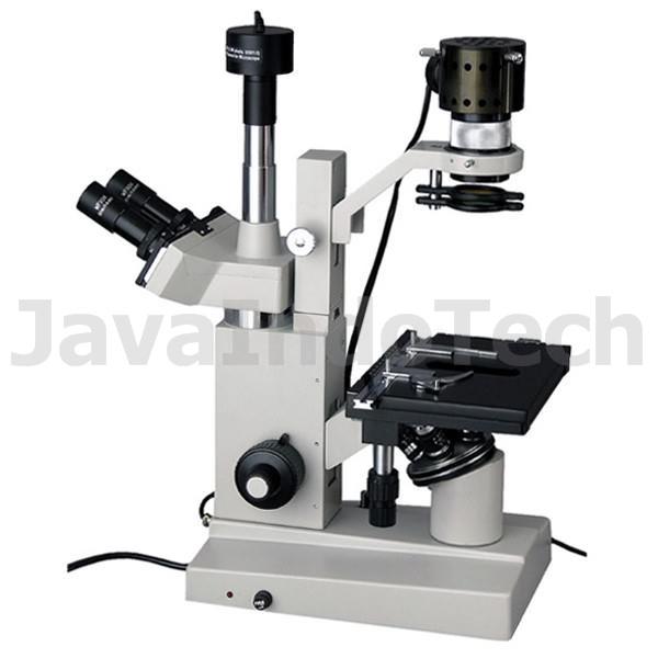 Review, Spesifikasi, dan Harga Jual Mikroskop AmScope Inverted Tissue Culture Microscope 40X-800X + 10MP Digital Camera termurah garansi resmi