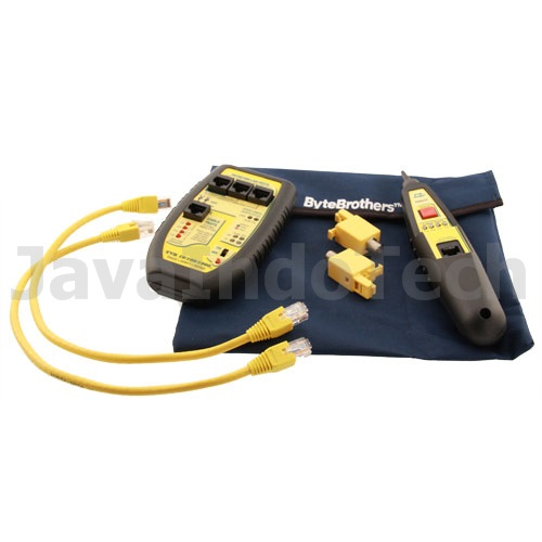 Jual LAN Tester Byte Brothers TVR 10/100/1000 LAN Tester and Probe