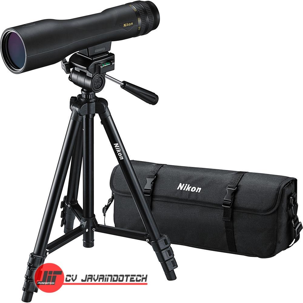 Review, Spesifikasi, dan Harga Jual Fieldscope Nikon Prostaff 3 16-48x60 Spotting Scope Kit (Straight Viewing) original, termurah, dan bergaransi resmi