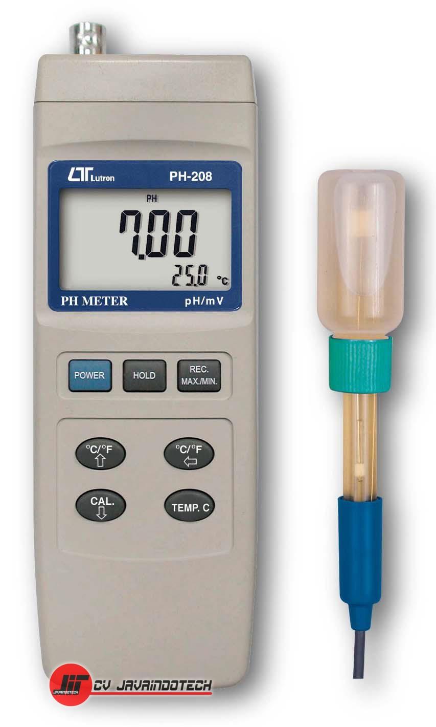 Review, Spesifikasi, dan Harga Jual pH Meter Lutron PH-208 pH Meter original, termurah, dan bergaransi resmi