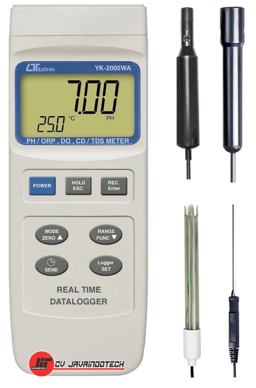 Review, Spesifikasi, dan Harga Jual pH Meter Lutron YK-2005WA pH Meter original, termurah, dan bergaransi resmi