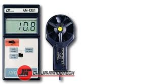 Review Spesifikasi dan Harga Jual Anemometer Lutron AM-4201 original termurah dan bergaransi resmi