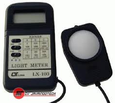 Review Spesifikasi dan Harga Jual Lutron LX-103 Light Meter Lux Meter original termurah dan bergaransi resmi