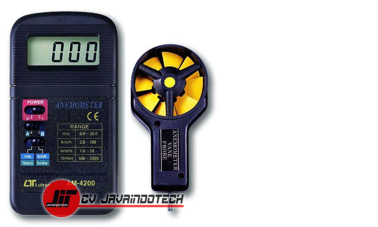 Review Spesifikasi dan Harga Jual Anemometer Digital Lutron AM-4200 original termurah dan bergaransi resmi
