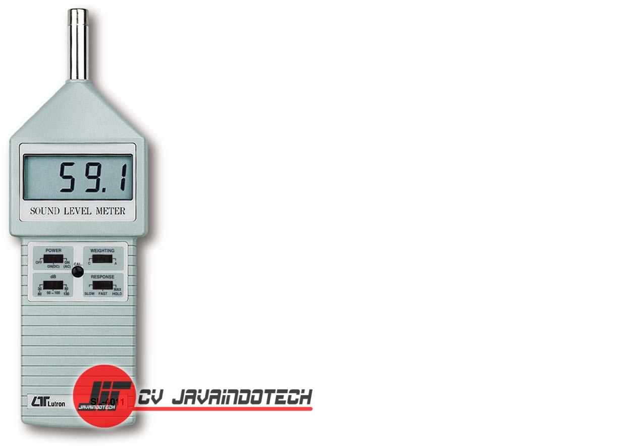 Review Spesifikasi dan Harga Jual SOUND LEVEL METER LUTRON SL 4011 original termurah dan bergaransi resmi