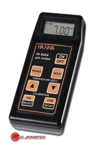 Review Spesifikasi dan Harga Jual Hanna Instruments HI-8424N Waterproof pH Meter with Automatic Calibration original termurah dan bergaransi resmi