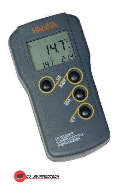 Review Spesifikasi dan Harga Jual Hanna Instruments HI-935005 K-type Thermometer original termurah dan bergaransi resmi