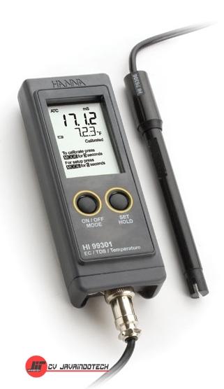 Review Spesifikasi dan Harga Jual Hanna Instruments HI-99301N EC/TDS/Temperature Meter original termurah dan bergaransi resmi