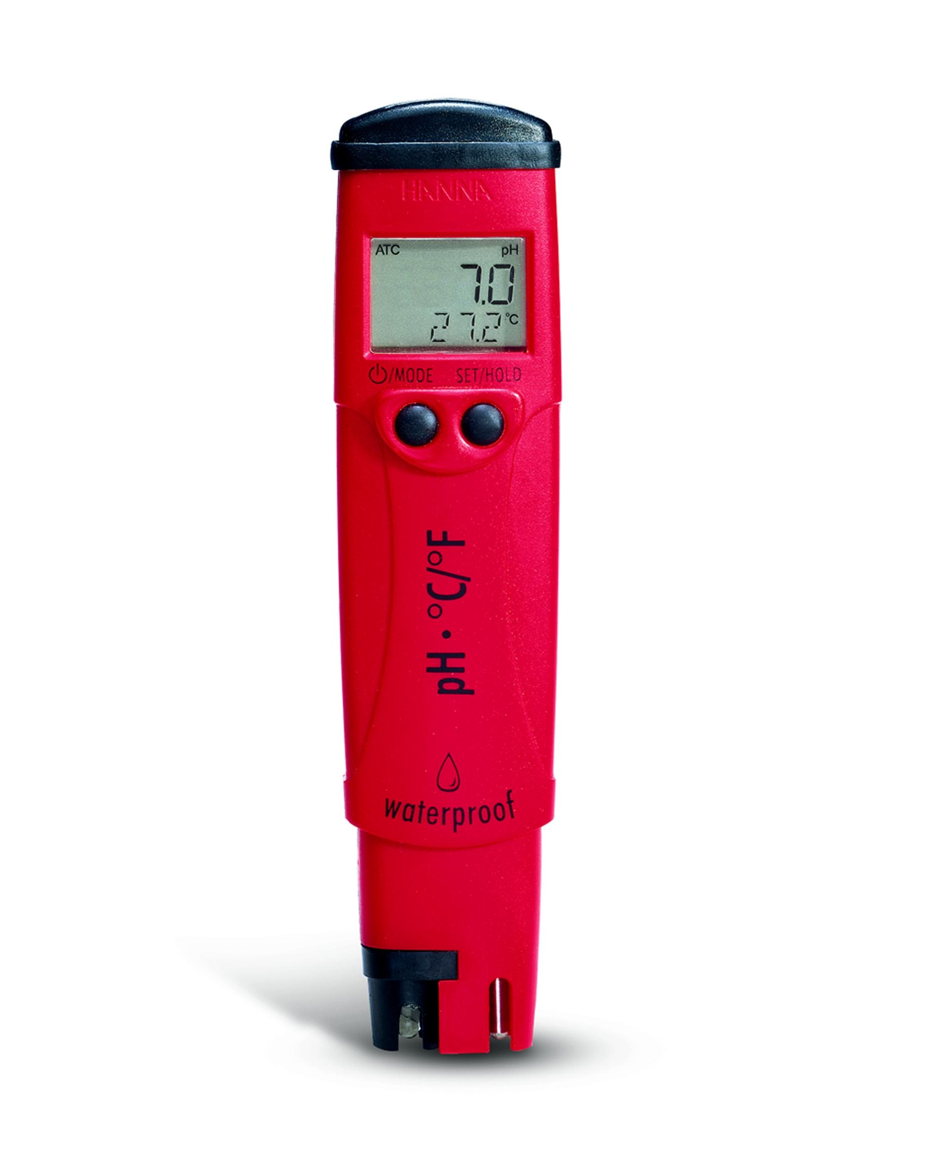 Review Spesifikasi dan Harga Jual Hanna Instruments HI-98127 pHep4 Waterproof pH Tester with Replaceable Electrode original termurah dan bergaransi resmi