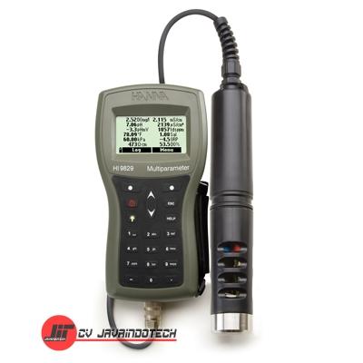 Review Spesifikasi dan Harga Jual Hanna Instruments HI-9829 GPS Multiparameter Meter original termurah dan bergaransi resmi