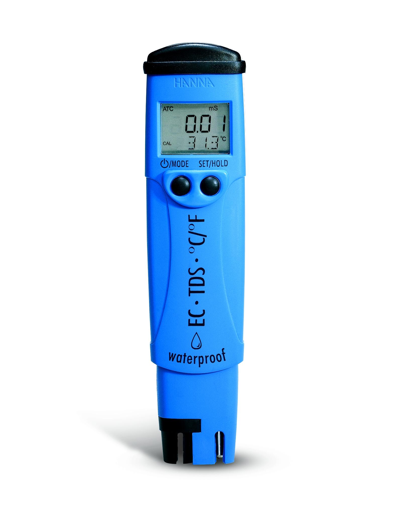 Review Spesifikasi dan Harga Jual Hanna Instruments HI-98312 Waterproof Conductivity Meter original termurah dan bergaransi resmi