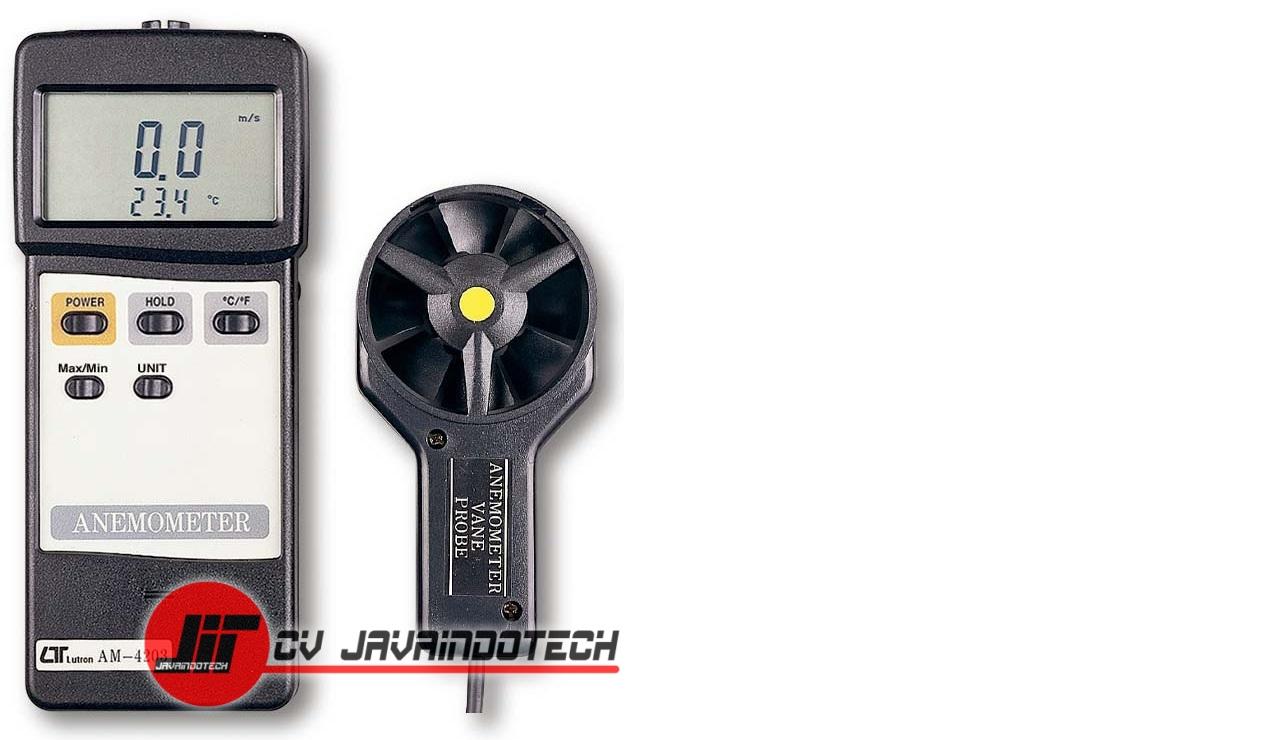 Review Spesifikasi dan Harga Jual Anemometer Digital Lutron AM-4203 original termurah dan bergaransi resmi