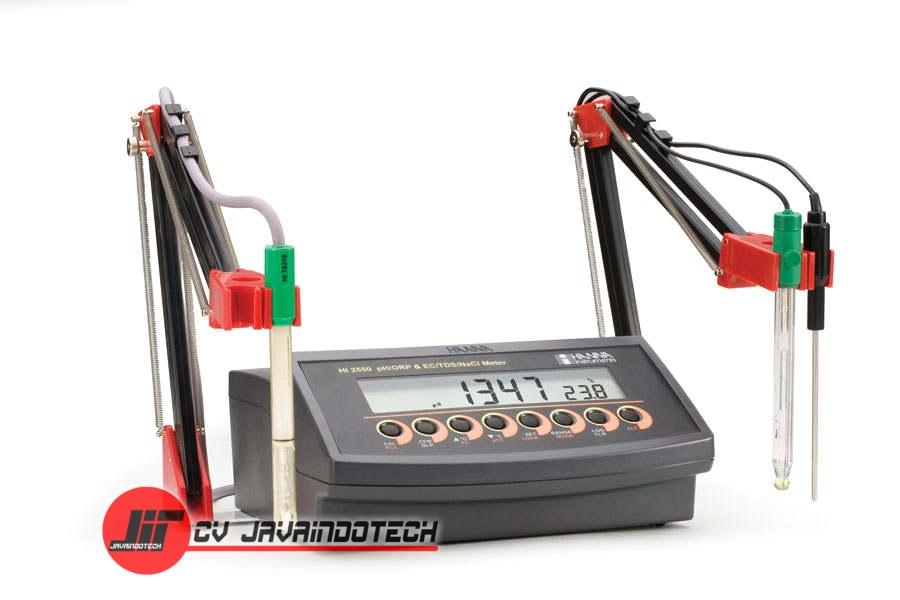 Review Spesifikasi dan Harga Jual Hanna Instruments HI-2550 Combination pH/ORP/EC/TDS/NaCl Bench Meter original termurah dan bergaransi resmi