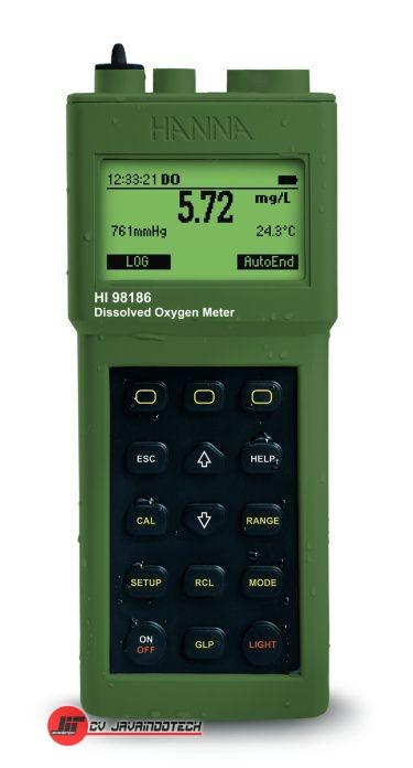 Review Spesifikasi dan Harga Jual Hanna Instruments HI-98186 Advanced High Range Dissolved Oxygen and BOD Meter original termurah dan bergaransi resmi