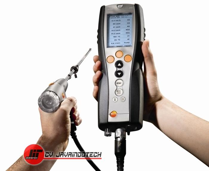 Review Spesifikasi dan Harga Jual Testo 340 Emissions Analyser original termurah dan bergaransi resmi