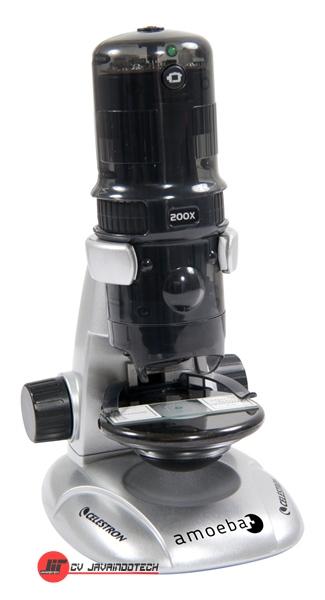 Review Spesifikasi dan Harga Jual Celestron Amoeba Dual Purpose Digital Microscope (Gray) original termurah dan bergaransi resmi