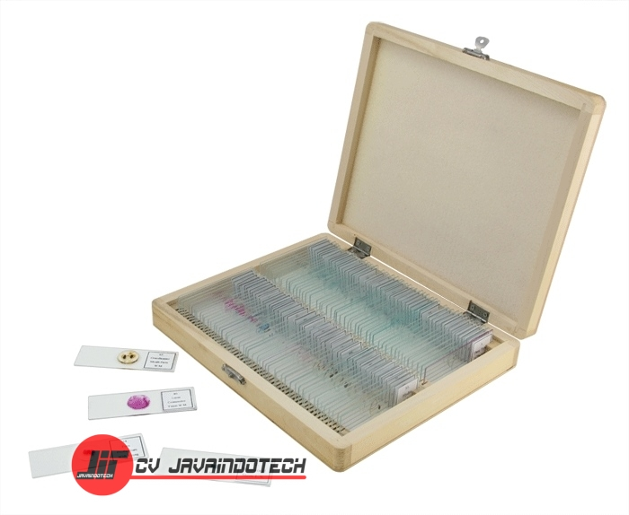 Review Spesifikasi dan Harga Jual Celestron 100 Piece Prepared Microscope Slide Kit original termurah dan bergaransi resmi