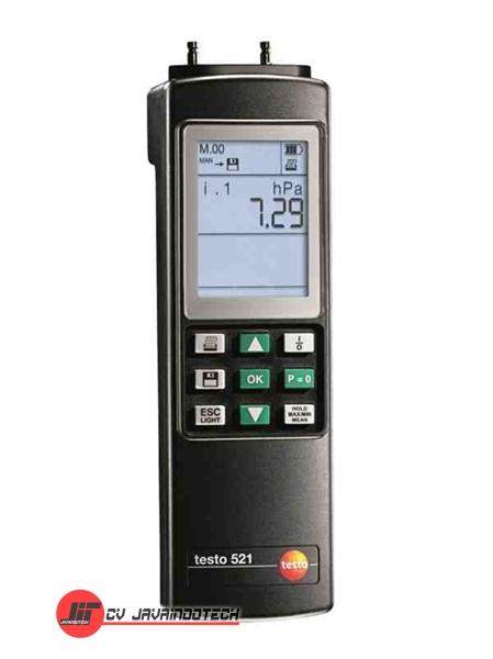 Review Spesifikasi dan Harga Jual Testo 521 Differential Pressure Meter original termurah dan bergaransi resmi