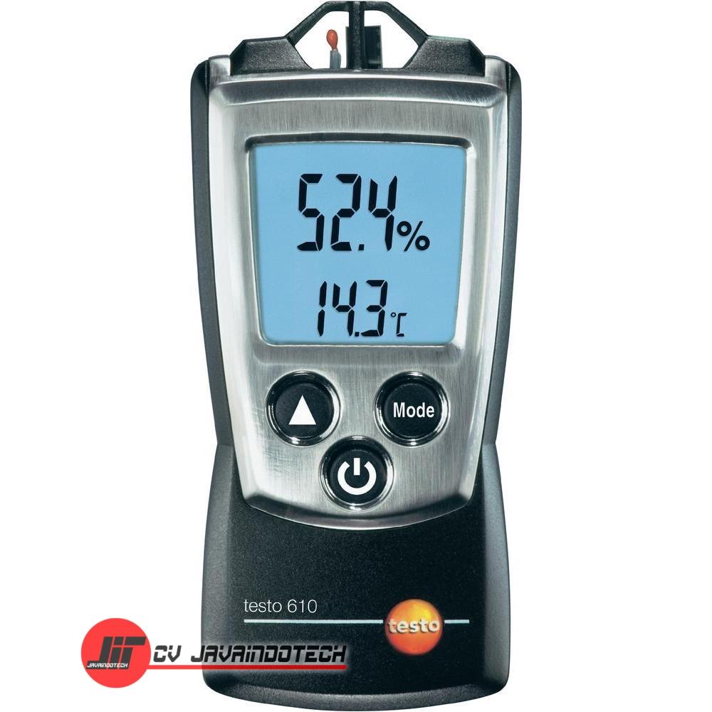 Review Spesifikasi dan Harga Jual Testo 610 Humidity & Temperature Measuring Instrument original termurah dan bergaransi resmi