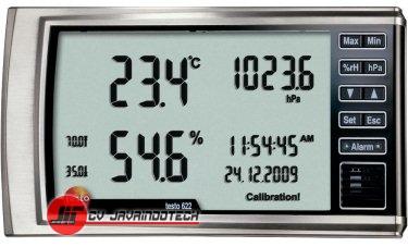 Review Spesifikasi dan Harga Jual Testo 622 Humidity/Temperature/Pressure Measuring Instrument original termurah dan bergaransi resmi
