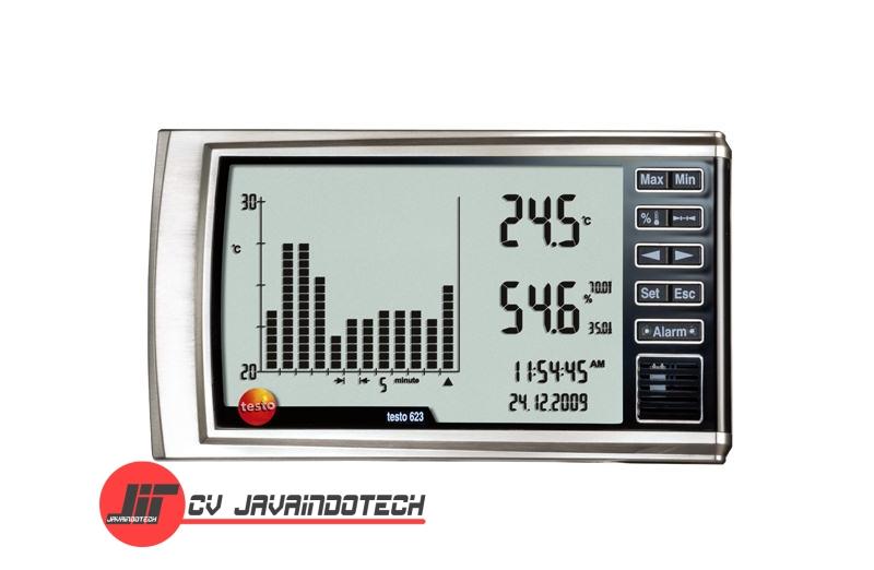 Review Spesifikasi dan Harga Jual Testo 623 Temperature/Humidity Measuring Instrument original termurah dan bergaransi resmi