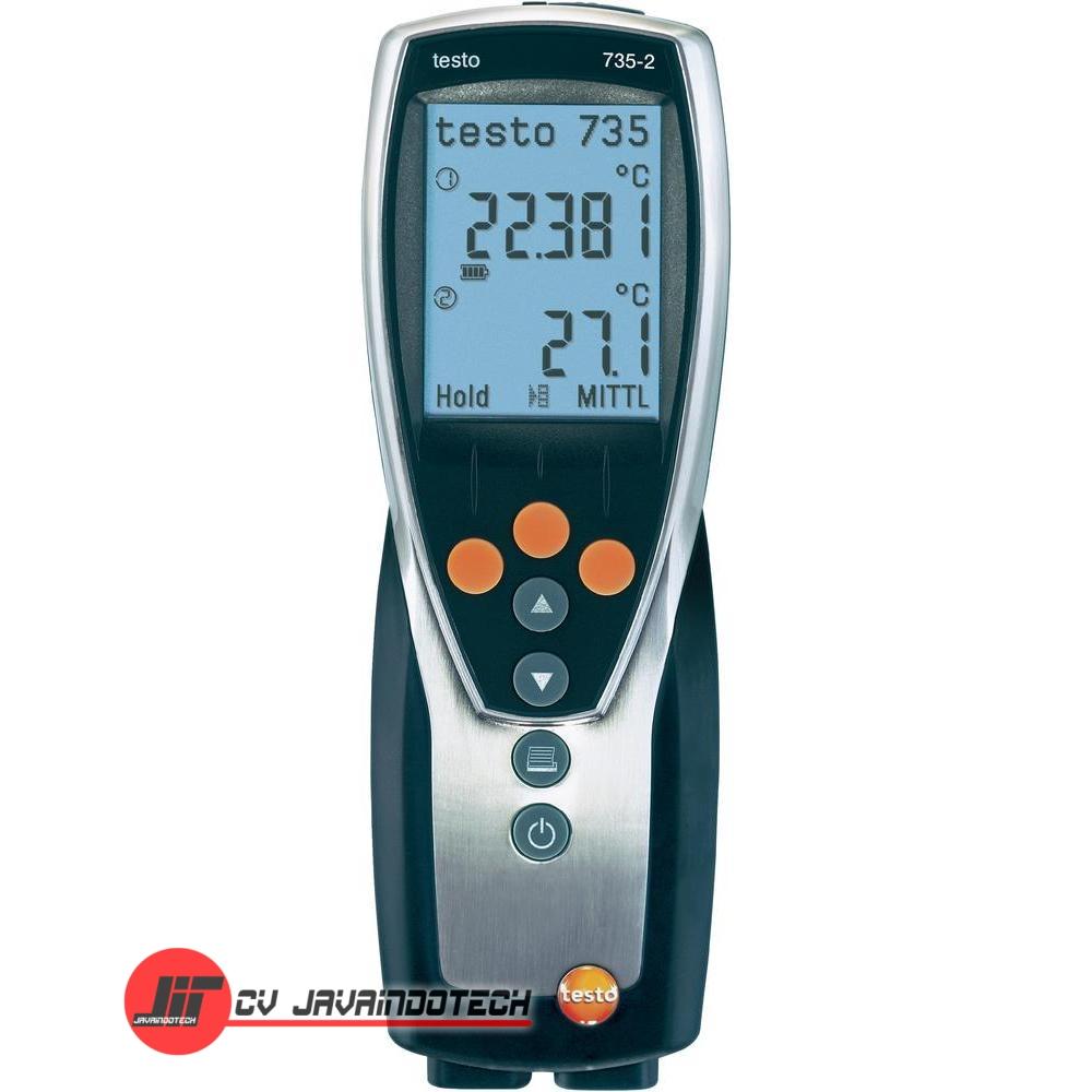 Review Spesifikasi dan Harga Jual Testo 735 Temperature Measuring Instrument original termurah dan bergaransi resmi