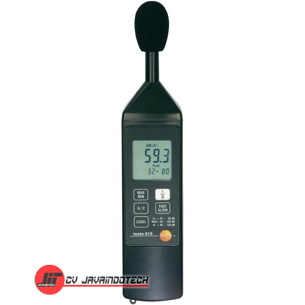 Review Spesifikasi dan Harga Jual Testo 815 Sound Level Meter original termurah dan bergaransi resmi