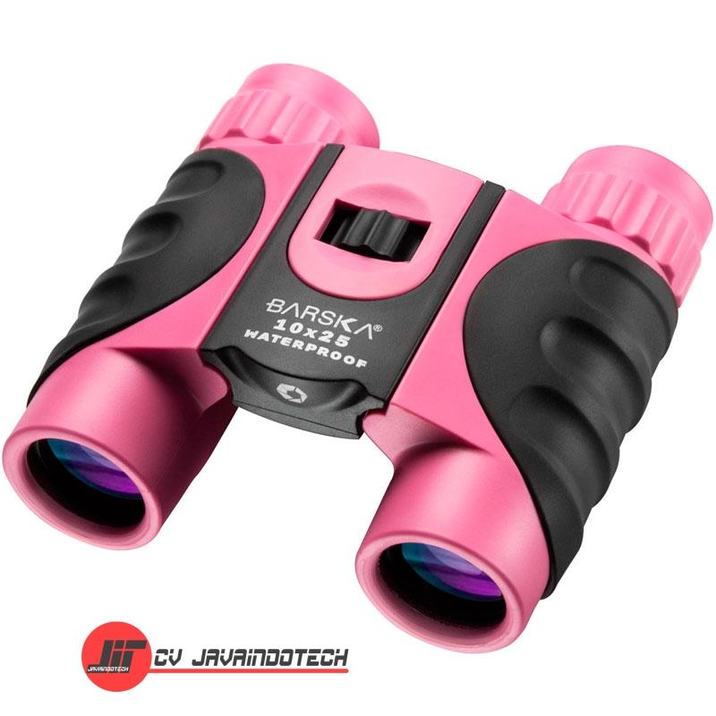 Review Spesifikasi dan Harga Jual Barska 10x25 Waterproof Pink Binocular original termurah dan bergaransi resmi