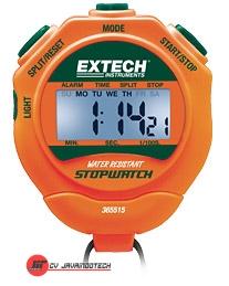 Review Spesifikasi dan Harga Jual Extech 365515: Stopwatch/Clock with Backlit Display Digital LCD Stopwatch plus Calendar and Alarm original termurah dan bergaransi resmi