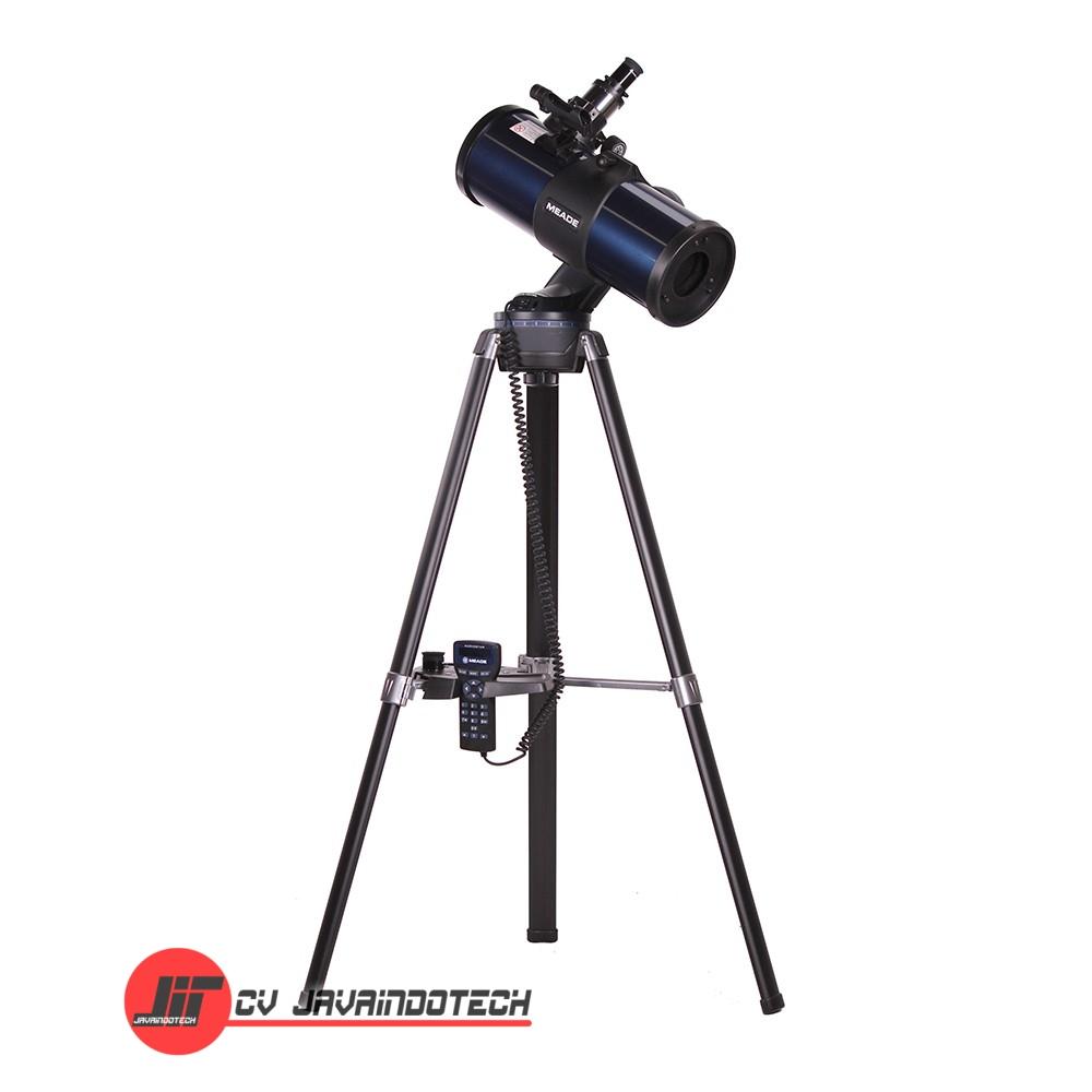 Review Spesifikasi dan Harga Jual MeadeStarNavigator 130mm Altazimuth Reflector with AudioStar original termurah dan bergaransi resmi