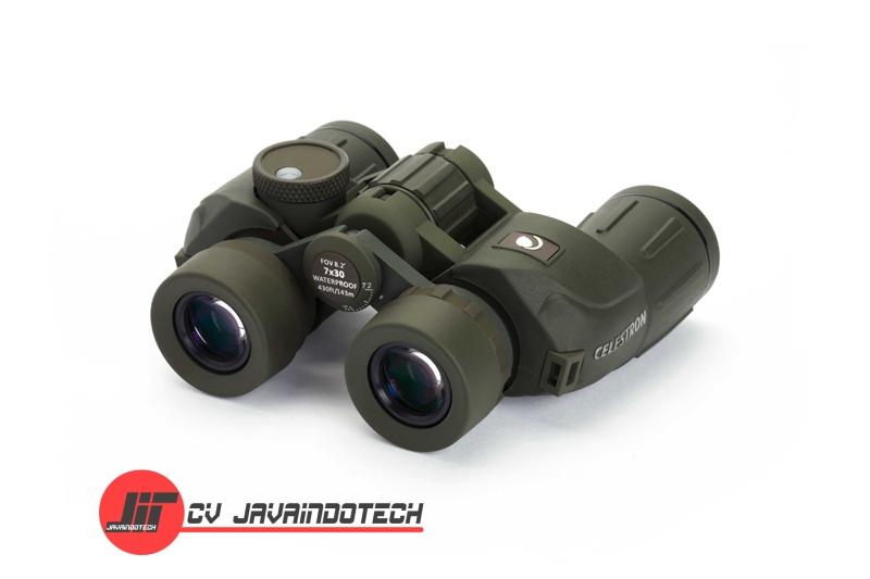 Review Spesifikasi dan Harga Jual Celestron Cavalry 7x30 Binocular with Compass & Reticle original termurah dan bergaransi resmi
