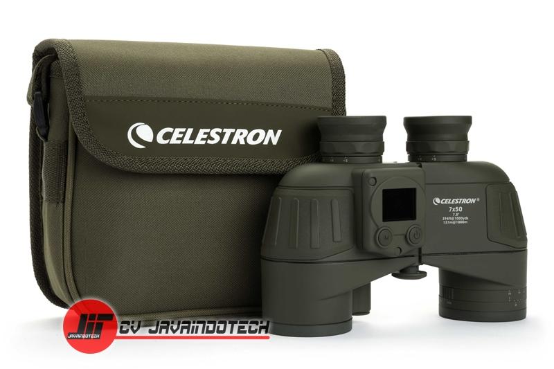 Review Spesifikasi dan Harga Jual Celestron Cavalry 7x50 Binocular with GPS Digital Compass & Reticle original termurah dan bergaransi resmi