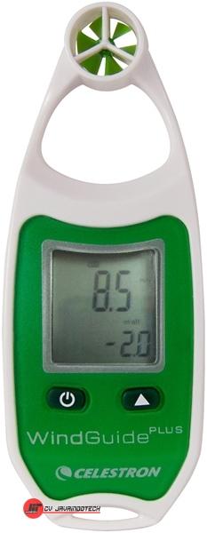 Review Spesifikasi dan Harga Jual Celestron WindGuide Plus Anemometer (Green) original termurah dan bergaransi resmi
