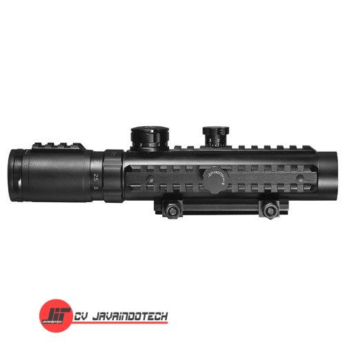Review Spesifikasi dan Harga Jual Barska 1-3x30 IR Sight Red Laser Light Ultimate Combo original termurah dan bergaransi resmi