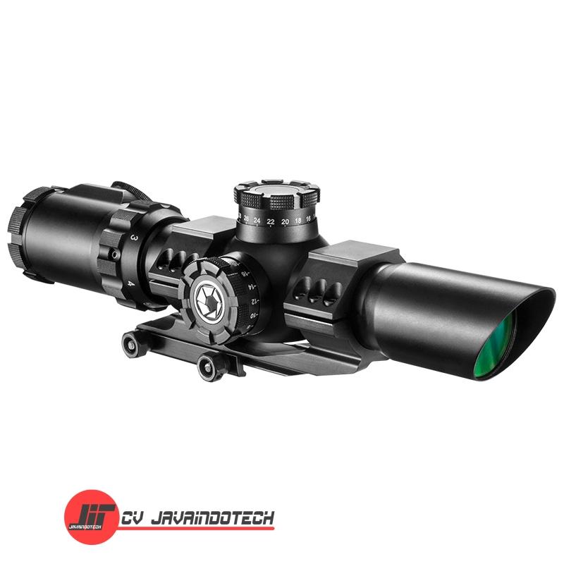 Review Spesifikasi dan Harga Jual Barska 1-6x32 IR SWAT-AR Rifle Scope original termurah dan bergaransi resmi