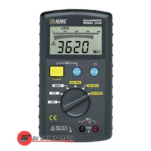 Review Spesifikasi dan Harga Jual AEMC 1026 1000V Megohmmeters original termurah dan bergaransi resmi