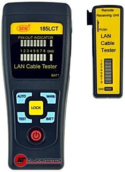 Review Spesifikasi dan Harga Jual SEW Lan Cable Tester 185 LCT original termurah dan bergaransi resmi