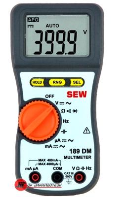 Review Spesifikasi dan Harga Jual SEW Digital Multimeters 189 DM original termurah dan bergaransi resmi