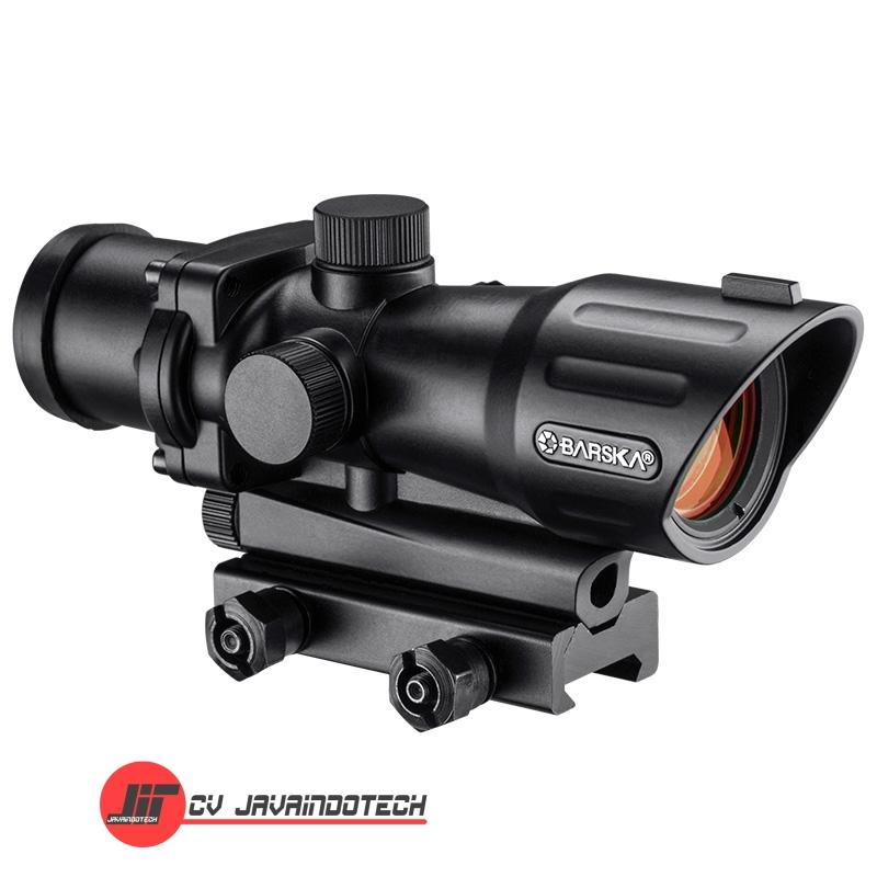 Review Spesifikasi dan Harga Jual Barska 1x30 IR M-16 Electro Sight Scope original termurah dan bergaransi resmi