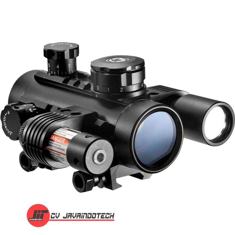 Review Spesifikasi dan Harga Jual Barska 1x30 Sight w/Flashlight & Laser original termurah dan bergaransi resmi