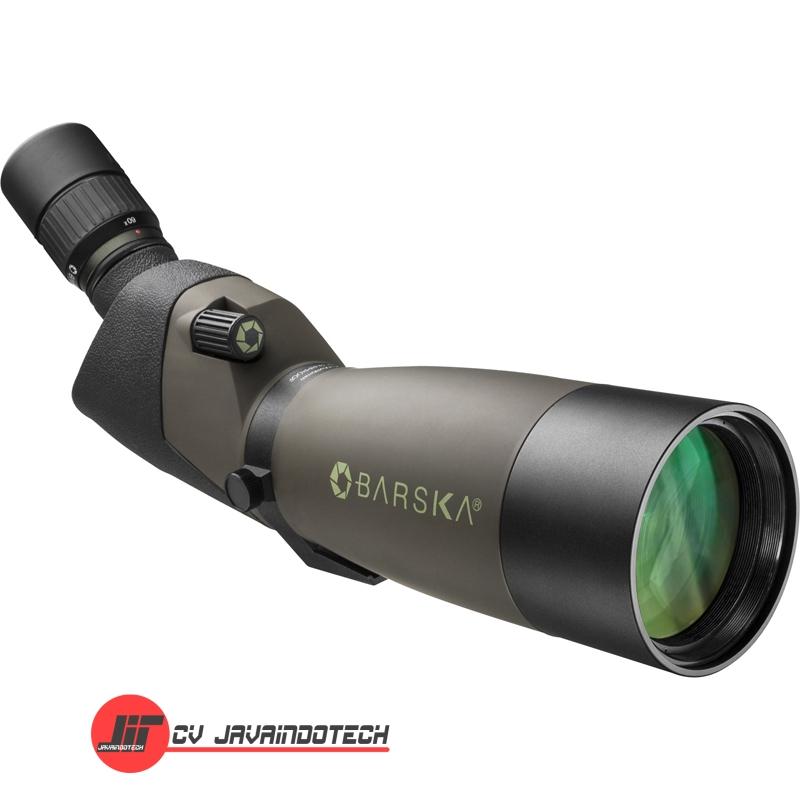 Review Spesifikasi dan Harga Jual Barska 20-60x80 WP Blackhawk Spotting Scope Angled original termurah dan bergaransi resmi