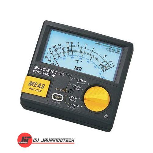 Review Spesifikasi dan Harga Jual Yokogawa 2406E Series Analog Insulation Tester original termurah dan bergaransi resmi