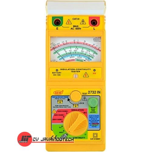Review Spesifikasi dan Harga Jual SEW Analogue (1kV below) Insulation Testers 2732 IN original termurah dan bergaransi resmi