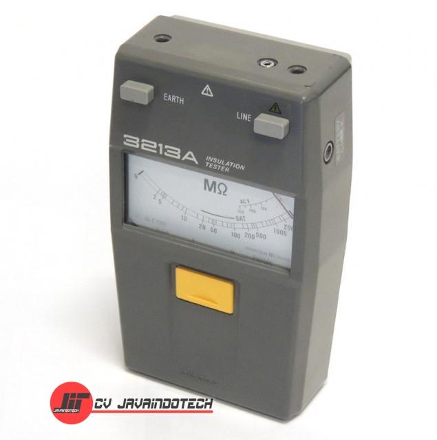 Review Spesifikasi dan Harga Jual Yokogawa 3213A Analog Insulation Tester original termurah dan bergaransi resmi