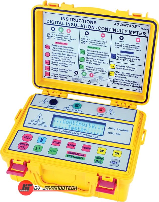 Review Spesifikasi dan Harga Jual SEW Insulation- Multifunction Testers (LCD Display) 4153 IN original termurah dan bergaransi resmi