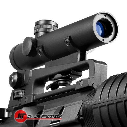 Review Spesifikasi dan Harga Jual Barska 4x20 M-16 Carry Handle Electro Sight Scope original termurah dan bergaransi resmi