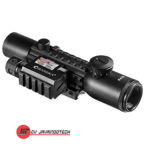 Review Spesifikasi dan Harga Jual Barska 4x28 IR Electro Sight Multi-Rail GLX Red Laser original termurah dan bergaransi resmi