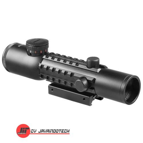 Review Spesifikasi dan Harga Jual Barska 4x28 IR Electro Sight Multi-Rail Red Laser Combo original termurah dan bergaransi resmi
