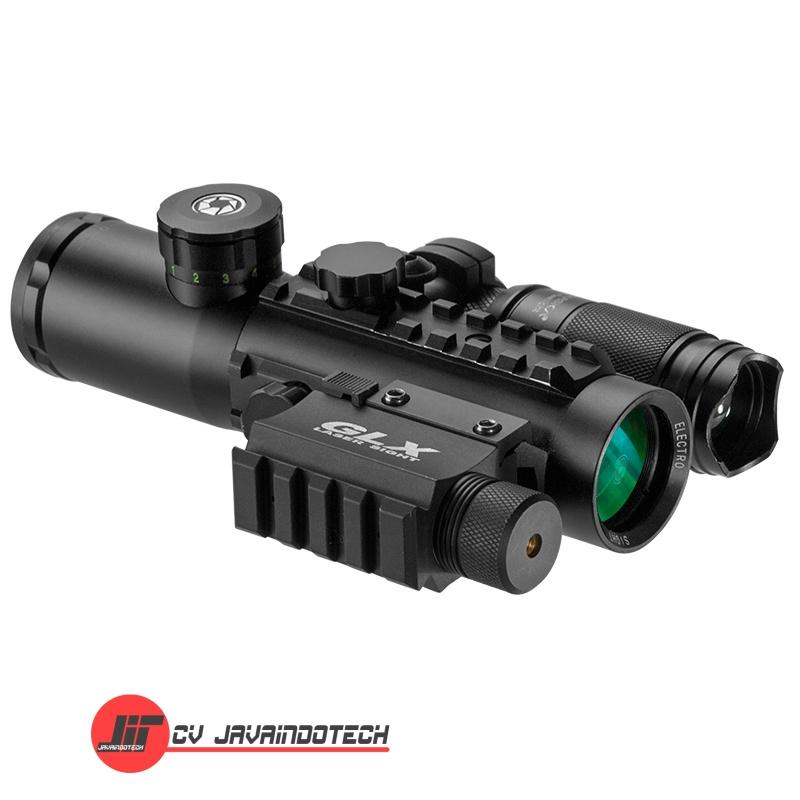 Review Spesifikasi dan Harga Jual Barska 4x30 IR Electro Sight w/Green Laser and Flashlight original termurah dan bergaransi resmi