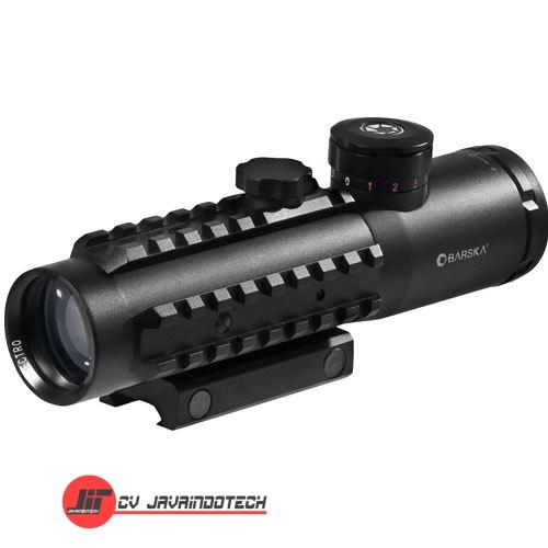 Review Spesifikasi dan Harga Jual Barska 4x30 IR Sight w/Red Laser & 210 Lumen Flashlight original termurah dan bergaransi resmi